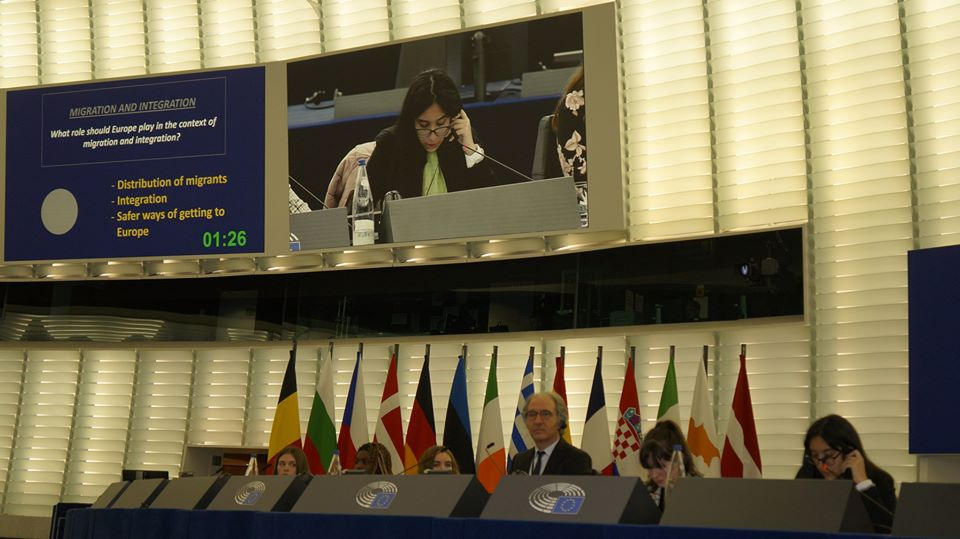 EUROSCOLA DAY 2020-EUROPEAN PARLIAMENT
